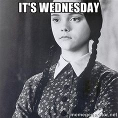 It's Wednesday | Wednesday Addams More