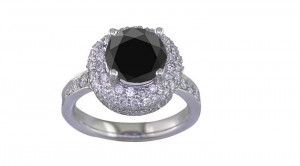 Black Diamond Engagement Ring Meaning Asian Cultures