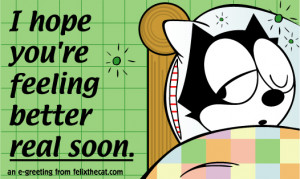 Back > Gallery For > Funny Hope You Feel Better Clip Art