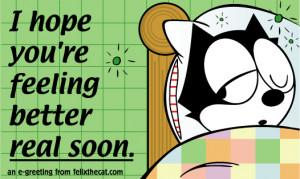 Back > Gallery For > Funny Hope You Feel Better Clip Art