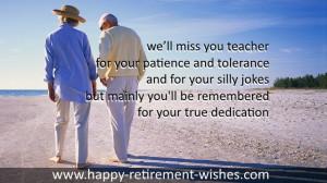 retirement poems for principal