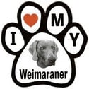 Weimaraner Stickers, Decals & Bumper Stickers