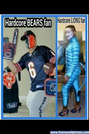 CHICAGO BEARS Vs. Lions ENOUGH SAID..