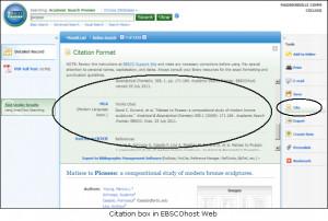 MLA citations for websites.