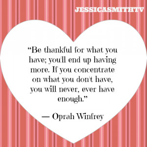 gratitude quotes, inspirational quotes, motivational quotes, Oprah ...