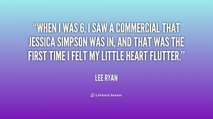 quote Lee Ryan when i was 6 i saw a 211759 png