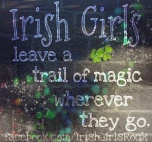 Irish girls...