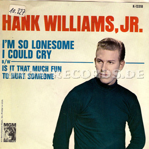 Hank Williams, Jr. - I'm so lonesome I could cry (Hank Williams)
