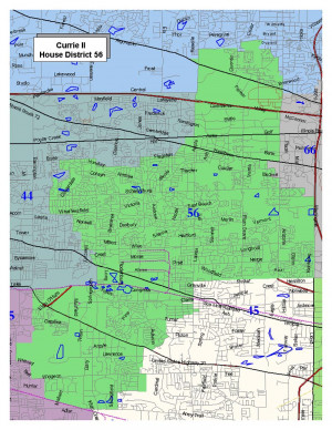 Illinois General Assembly District Map