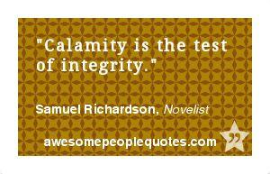 ... . – Samuel Richardson, Novelist #intelligent #clever #quote #quotes