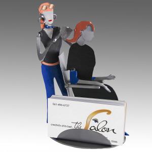 Home › Desktop Accessories › Hair Stylist Business Card Holder