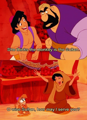 Aladdin, I want this line in the show.. ;D