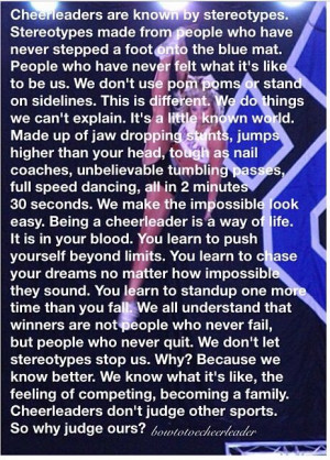 Cheerleading Cheer Quotes