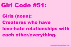 Girl Code Rules