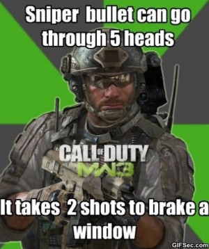 Call of Duty - Funny Pictures, MEME and Funny GIF from GIFSec.com