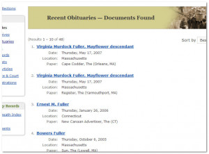 Genealogybank Recent...