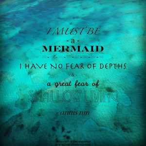 Island Inspirations -Mermaid Living Quote