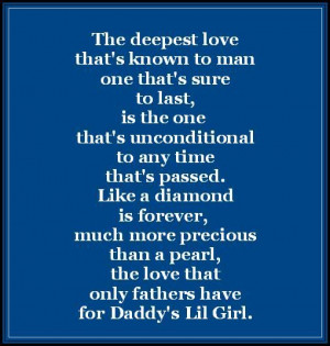 Daddy Quotes, Daddy Daughters Quotes, Daddy Girls Quotes, Little Girl ...