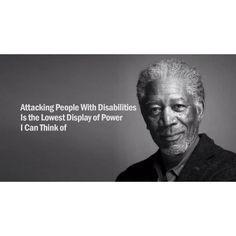 Morgan Freeman speaks for disabilities More