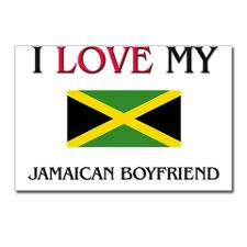 Love My Jamaican Boyfriend Postcards (Package of for