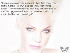 NK QUOTES | The Official P!nk Site