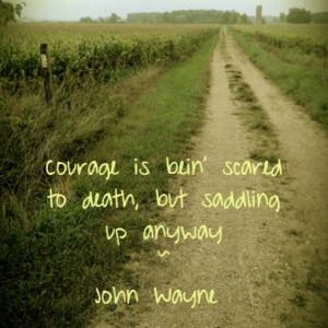 John Wayne, quotes