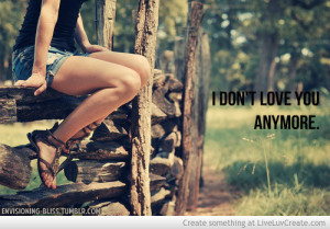 Dont Love You Anymore