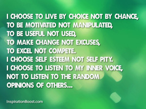Choices of Life Quotes