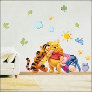 Winnie the Pooh Tiger II Removable Wall Sticker Decal Quote Decor