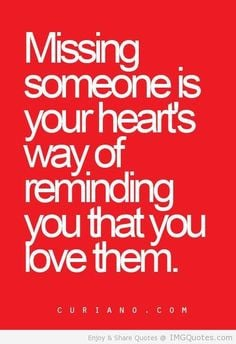 Deep Quotes About Missing Someone | Meaningful Love Quotes and ...