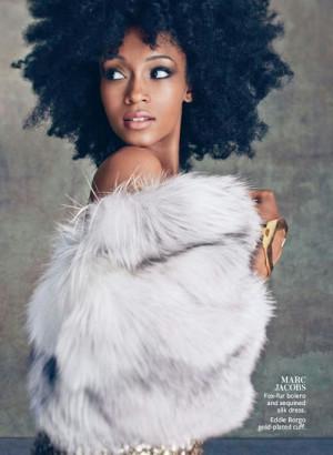 ... Yaya Dacosta, Instyle Magazine, Fashion Photography, Hairstyles Ideas