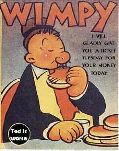 Rising Profits in FASB Wonderland... or Wimpy's Rule