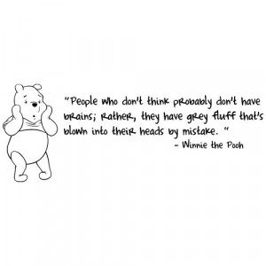 Fluff - Winnie The Pooh: Disney Quotes, Pooh Bears, Grey Fluff, Bears ...