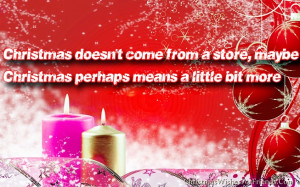 Merry Christmas Images with Quotes and Sayings