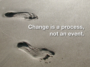 ... changes. I thought it was pretty relative to my overall life at the