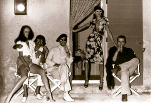 GraceCoddington Helmut Newton, Manolo Blahnik Angelica Houston David ...