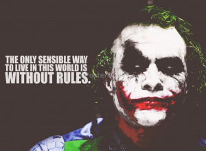 Joker Quotes Madness