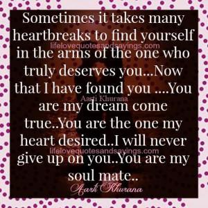 You Are My Dream Come True..