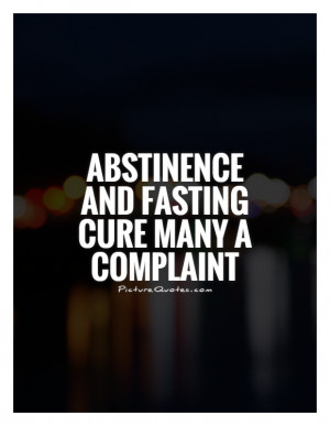 Proverb Quotes Fasting Quotes