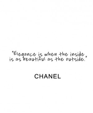 Chanel Quotes