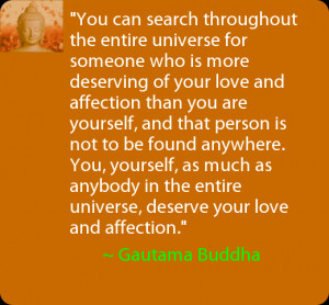 Daily Positive Thoughts – Quote from Gautama Buddha