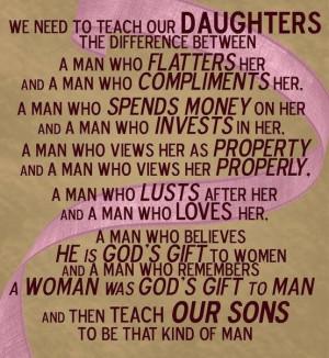 How A Man Should Treat A Woman