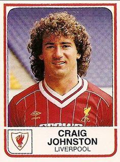 craig johnston more liverpool fc football cards og kort craig johnston ...
