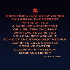 words #hurtful #forgive