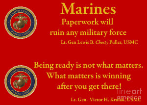 Marine Sayings Photograph Fine Art Print
