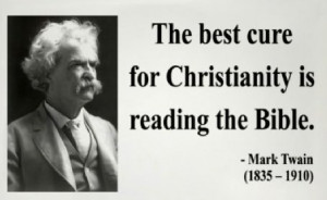 Agnostic Quotes Funny | Mark Twain Quote « Atheist Pictures Atheist ...