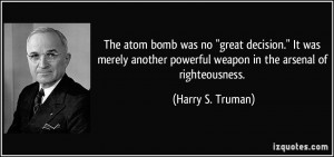 Powerful Weapon quote #2