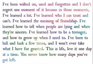 ... # teenager quotes # love quotes # life quotes # growing older quotes
