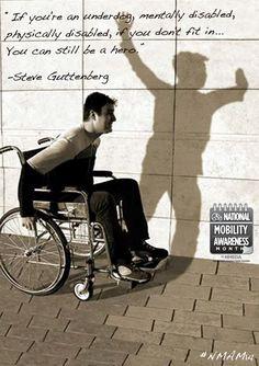 ... Steve Guttenberg #NMAM14 #Inspiration mental disabl, lve truli, steve