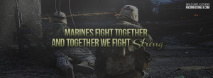 Marines Fight Strong 1 Facebook Cover